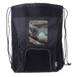 Adorable Otter Drawstring Backpack