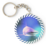 Killer Shark Keychain