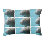 Large Manatee Underwater Accent Pillow