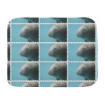 Large Manatee Underwater Burp Cloth