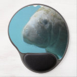 Large Manatee Underwater Gel Mouse Pad