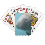 Large Manatee Underwater Playing Cards