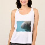 Large Manatee Underwater Tank Top