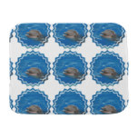 Lovable Dolphin Baby Burp Cloth
