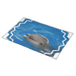 Lovable Dolphin Cloth Placemat