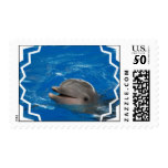 Lovable Dolphin Postage
