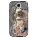 Otter Back Float Galaxy S4 Case