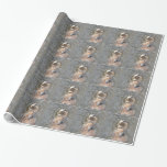 Otter Back Float Wrapping Paper