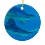 Pair of Sharks Ornament