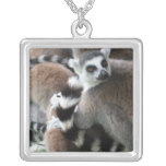 Ring Tailed Lemurs Necklace