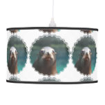 Sea Lion with Whiskers Ceiling Lamp