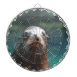Sea Lion with Whiskers Dartboard