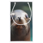 Sea Lion with Whiskers Small Gift Bag