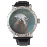 Sea Lion with Whiskers Wrist Watches