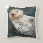 Sea Otter  Pillow