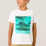 Stingrays on Ocean Floor Youth T-Shirt