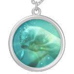 Underwater Otter Necklace